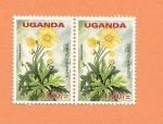 Sellos del Mundo : Africa : Uganda : Flora y Fauna