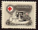 Sellos del Mundo : America : Colombia : Cruz Roja