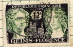 Sellos del Mundo : Europa : Francia : Reim  Florence