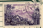Sellos del Mundo : Europa : Francia : Le Mont Pele MARINIQUE