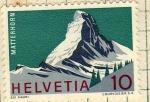 Sellos del Mundo : Europa : Suiza : Matterhorn