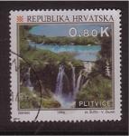 Sellos de Europa - Croacia -  Aniv. del Turismo en Croacia