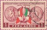 Sellos del Mundo : America : Perú : Exposición