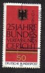Sellos del Mundo : Europa : Alemania : 25 años de la Construcción Federal