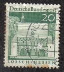 Sellos del Mundo : Europa : Alemania : Abadia y Altenmusche de Lorsch