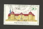 Sellos de Europa - Alemania -  Castillo Moritzburg en Dreden