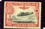 Sellos del Mundo : Europa : España : Pro Cruz Roja Española. Avion Plus Ultra