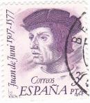 Sellos de Europa - España -  Juan de Juni 15o7-1577   (8)