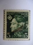Sellos de America - Venezuela -  Cruzada Venezolan-Sanitario Social- Simón Bolívar