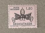 Sellos del Mundo : Europa : Vaticano : Escudo Vaticano
