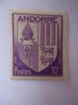 Sellos del Mundo : Europa : Andorra :  Andorre-escudo