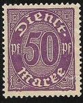 Sellos de Europa - Alemania -  Official Stamps