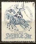 Sellos del Mundo : Europa : Suecia : Duke Erik Magnusson.