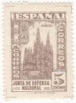 Sellos de Europa - España -  Catedral de Burgos (10)