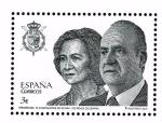 Sellos del Mundo : Europa : España : Edifil  4829  75 cumpleaños de SS.MM. los Reyes de España.