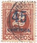 Sellos de Europa - España -  CIFRA       (10)