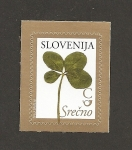 Sellos de Europa - Eslovenia -  Trébol de 4 hojas