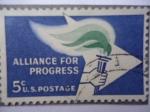 Sellos de America - Estados Unidos -  Alianza Para El Progreso