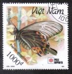 Sellos del Mundo : Asia : Vietnam : Papilio Demetrius