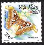 Sellos del Mundo : Asia : Vietnam : Attacus Atlas