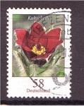 Sellos de Europa - Alemania -  serie- Flores