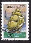 Sellos del Mundo : Africa : Tanzania : Barco