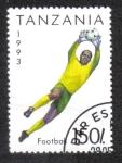 Sellos del Mundo : Africa : Tanzania : Football