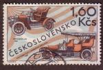 Sellos de Europa - Checoslovaquia -  Automóviles