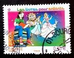 Sellos del Mundo : Europa : Francia : Literatura para niños