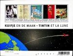 Sellos del Mundo : Europa : Bélgica : Tintín en la luna