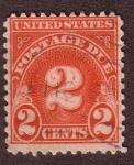 Sellos de America - Estados Unidos -  Postage Due