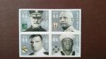 Sellos del Mundo : America : Estados_Unidos : Militares condecorados