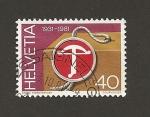 Sellos de Europa - Suiza -  Emblema de la ballesta