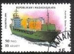 Sellos del Mundo : Africa : Madagascar : Barco Polivalente Australiano