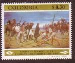 Sellos de America - Colombia -  Sesquicentenario de la Campaña Libertadora