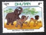 Sellos del Mundo : Asia : Bhután : The Gungle Book