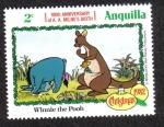 Sellos del Mundo : America : Anguila : Winnie the Pooh