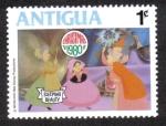 Sellos del Mundo : America : Antigua_y_Barbuda : Sleepin Beauty