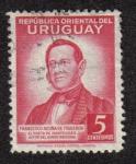 Sellos del Mundo : America : Uruguay : Francisco Acuna de Figueroa
