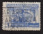 Sellos del Mundo : America : Uruguay : Centenario del Instituto Histórico Geográfico 1843-1943