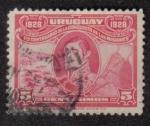 Sellos del Mundo : America : Uruguay : General Rivera, 1er centenario de la Conquista de Las Misiones 1828-1928
