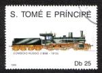 Sellos del Mundo : Africa : Santo_Tomé_y_Principe : Tren Ruso 1898-1910