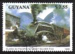Sellos del Mundo : America : Guyana : Class A4 Pacific No. 60017 Silver Fox