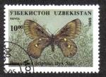 Sellos del Mundo : Asia : Uzbekistán : Parnassius Delphius styx