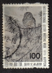 Sellos del Mundo : Asia : Japón : Great Owl, by Okyo Maruyama