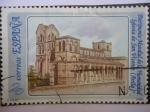 Sellos de Europa - España -  Patrimonio Mundial de la Humanidad - Iglesia de San Vicente  - Avila.