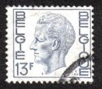 Sellos del Mundo : Europa : Bélgica : King Baudouin Type Elström - 13 BEF