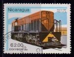 Sellos de America - Nicaragua -  Ferrocarriles