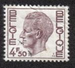 Sellos del Mundo : Europa : Bélgica : King Baudouin Type Elström - 4.50 BEF