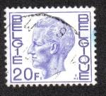 Sellos del Mundo : Europa : Bélgica : King Baudouin Type Elström - 20 BEF
